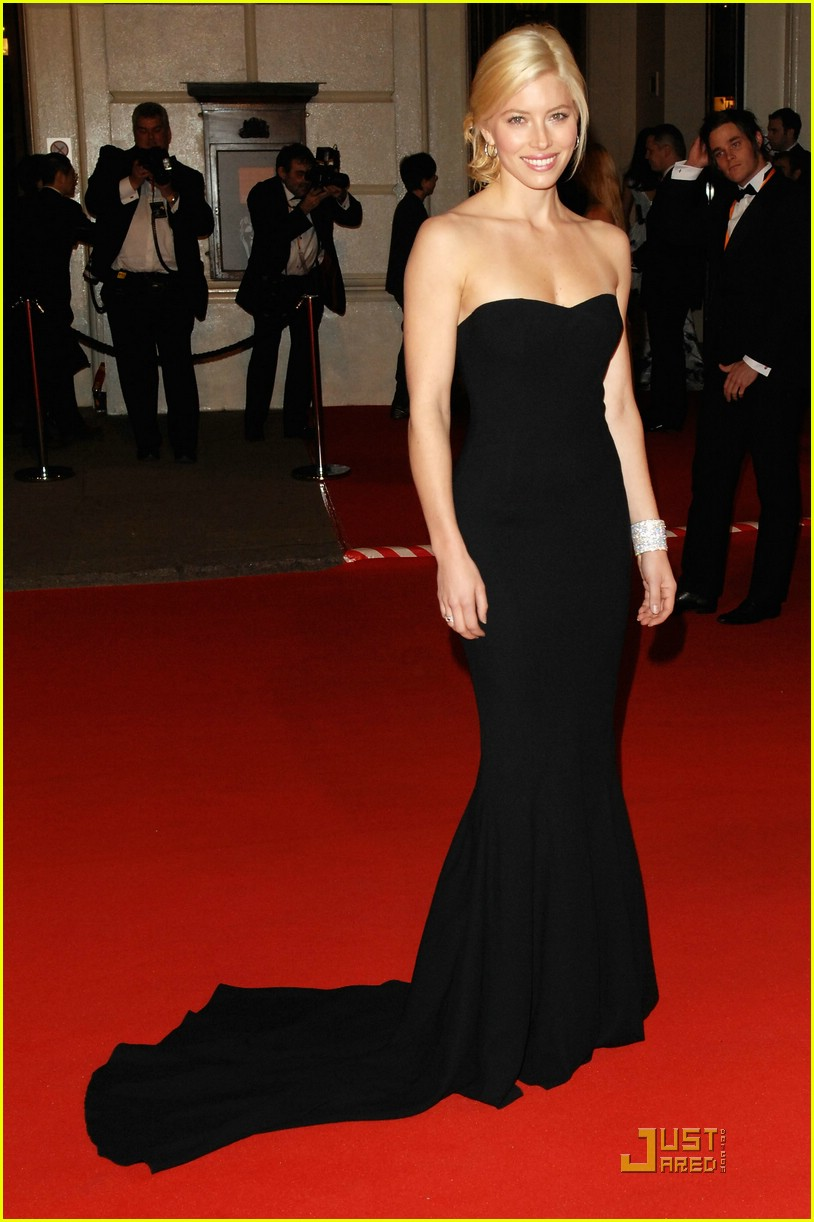 jessica biel bafta awards 2008 03