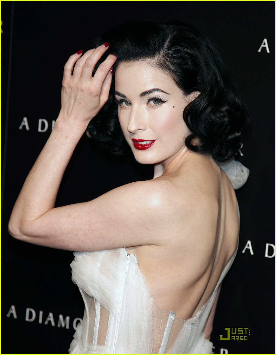 Dita Von Teese Attends Diamond Dinner: Photo 949201  Dita Von Teese  Pictures  Just Jared