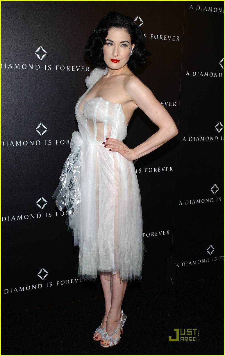 dita von teese diamond dinner 12949231