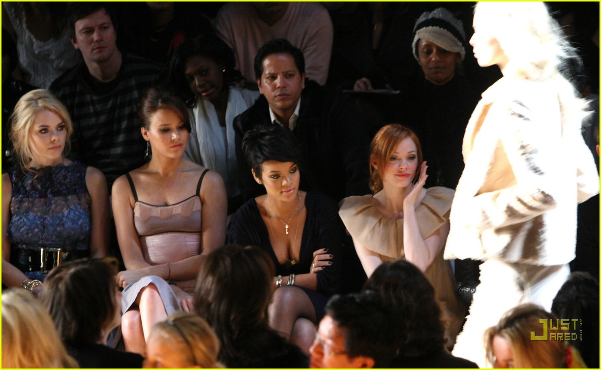 rihanna ny fashion week 50