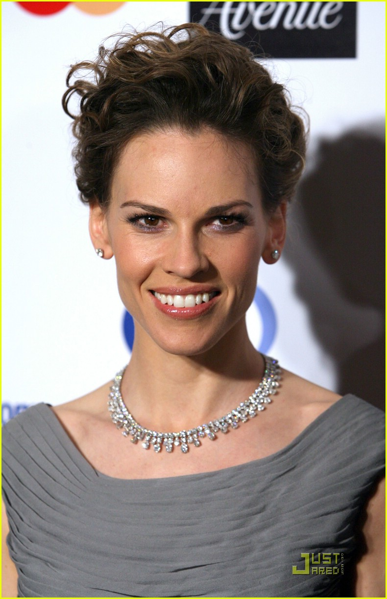 hilary swank cancer charity work 03