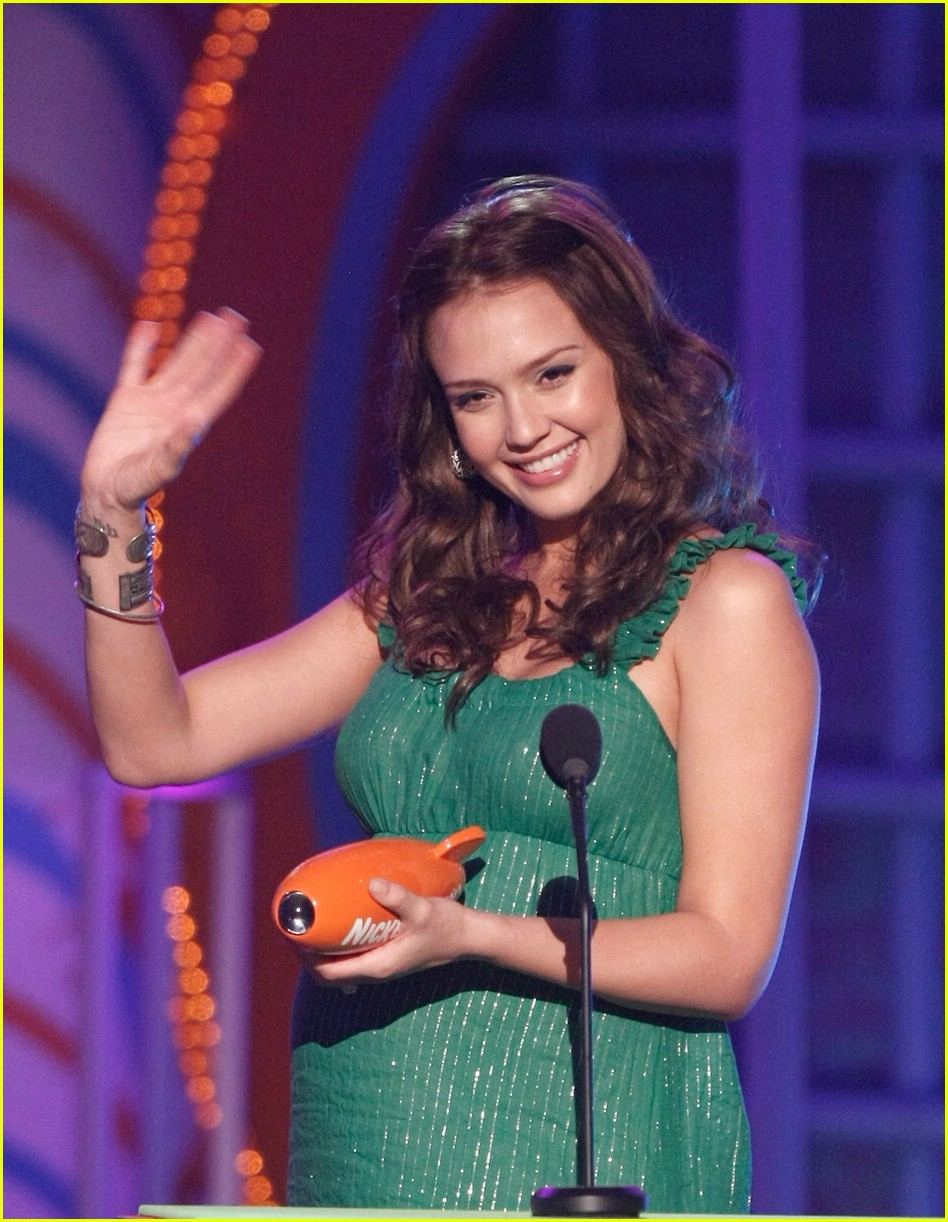 jessica alba 2008 kids choice awards 041031041