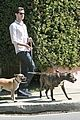 adam brody walking dogs 12