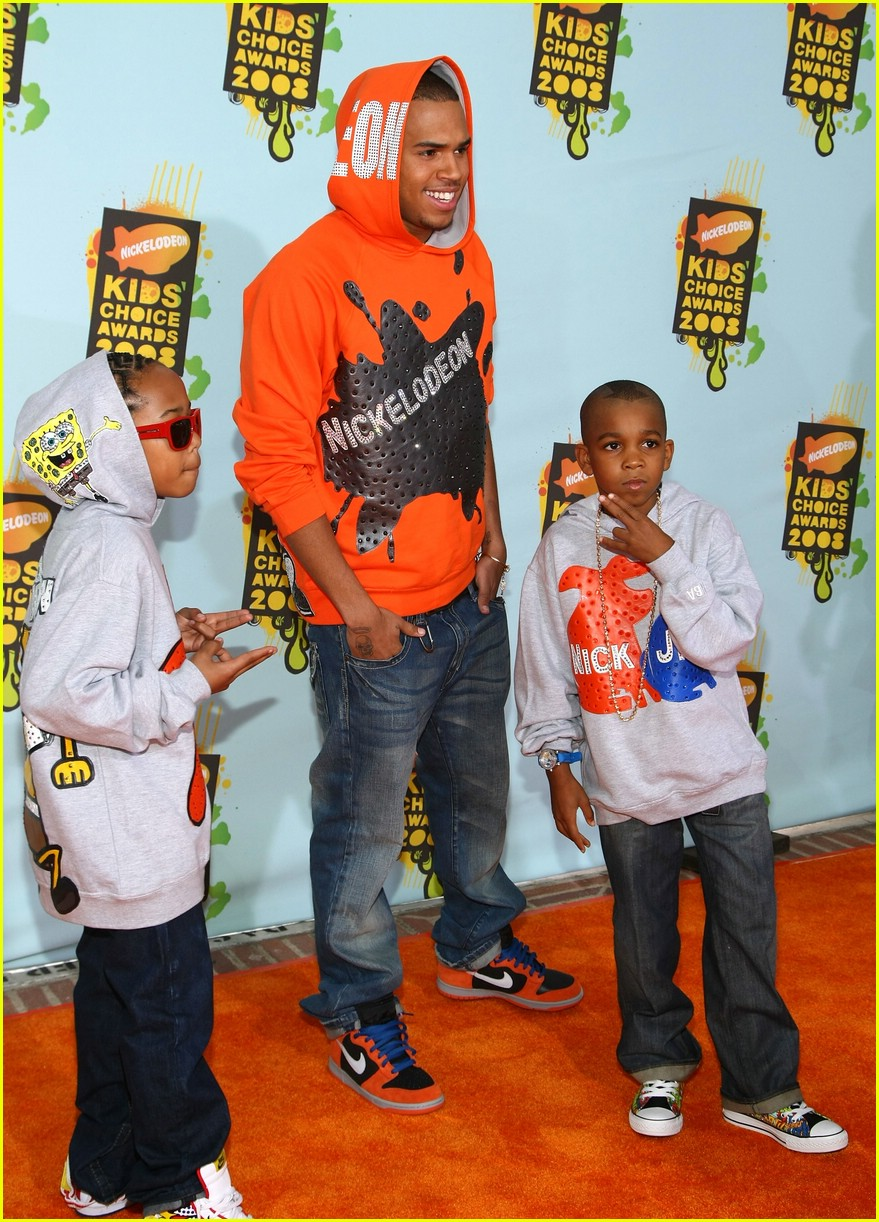 chris brown 2008 kids choice awards 06