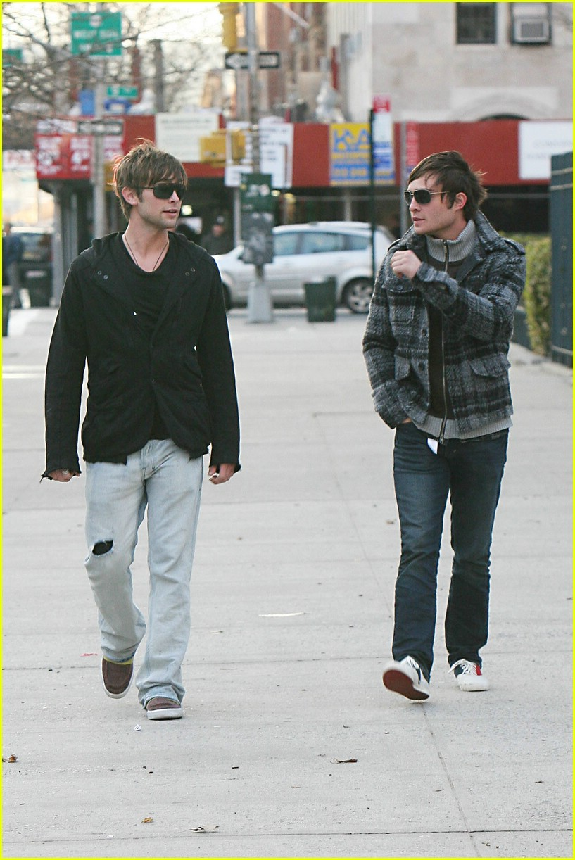 Pics Photos - Chace Crawford And Ed Westwick Funny Picture Funny Pics