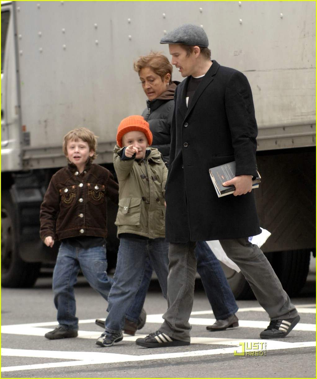 Ethan Hawke and Little...