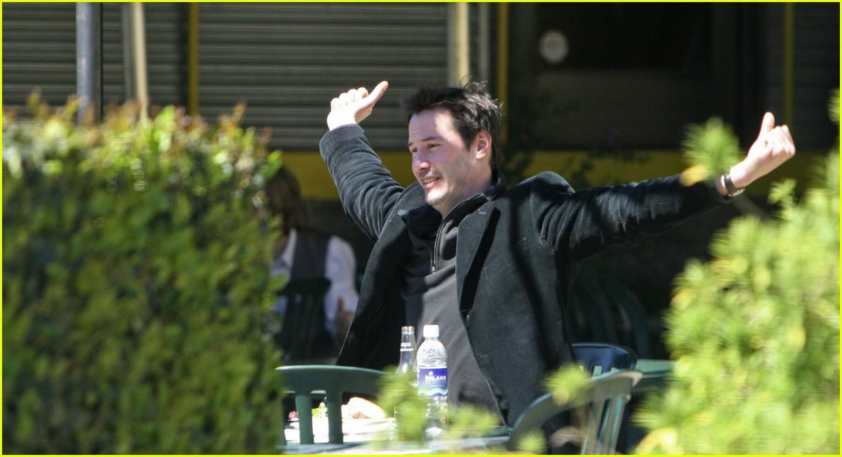Keanu Reeves Has Racco...