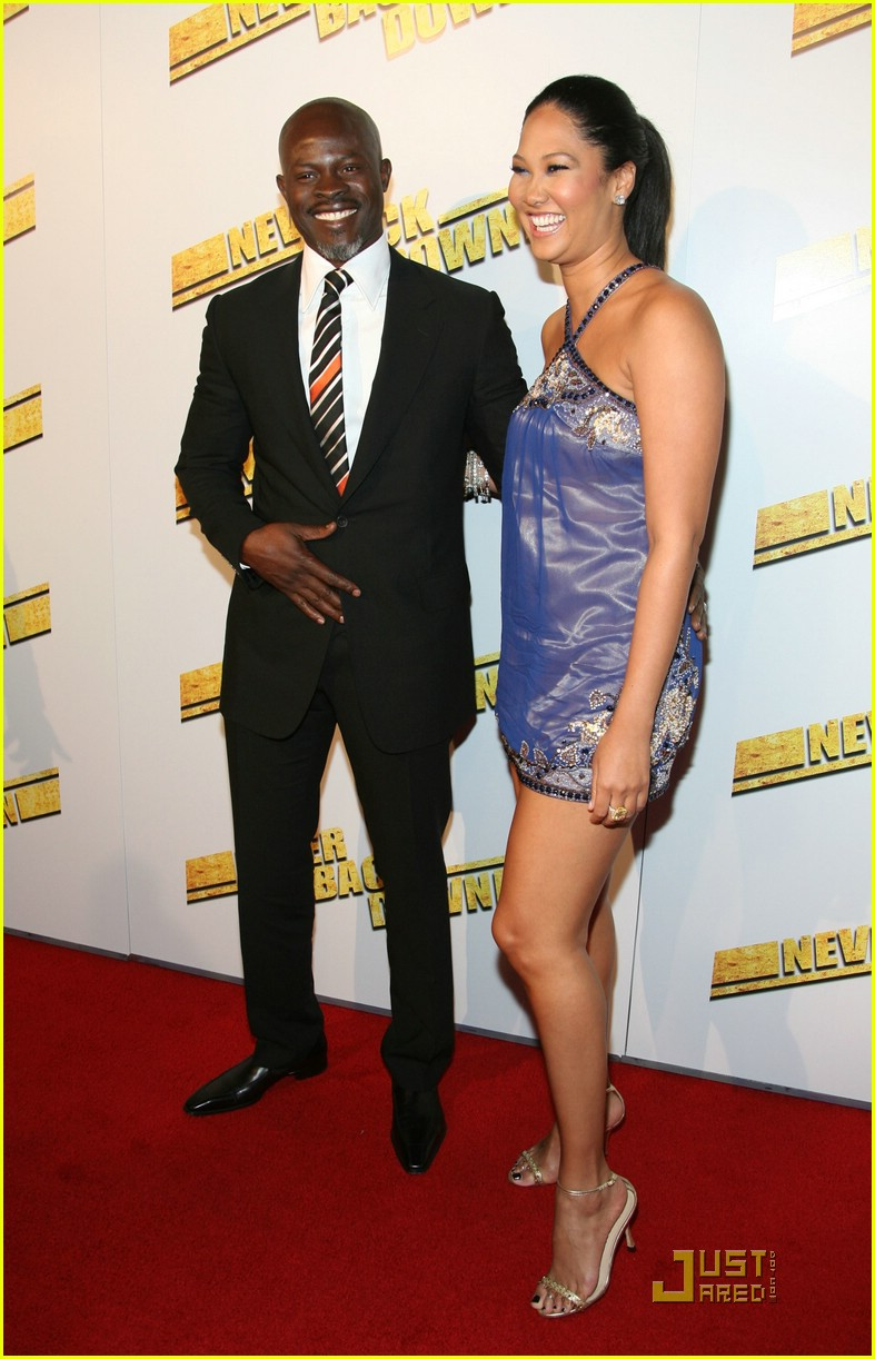 kimora lee djimon hounsou never back down 31