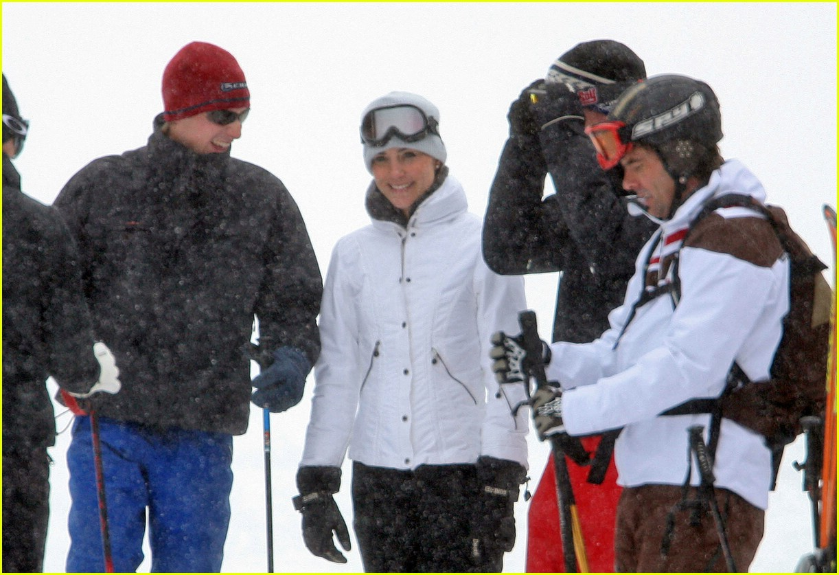 prince william kate middleton skiing 07