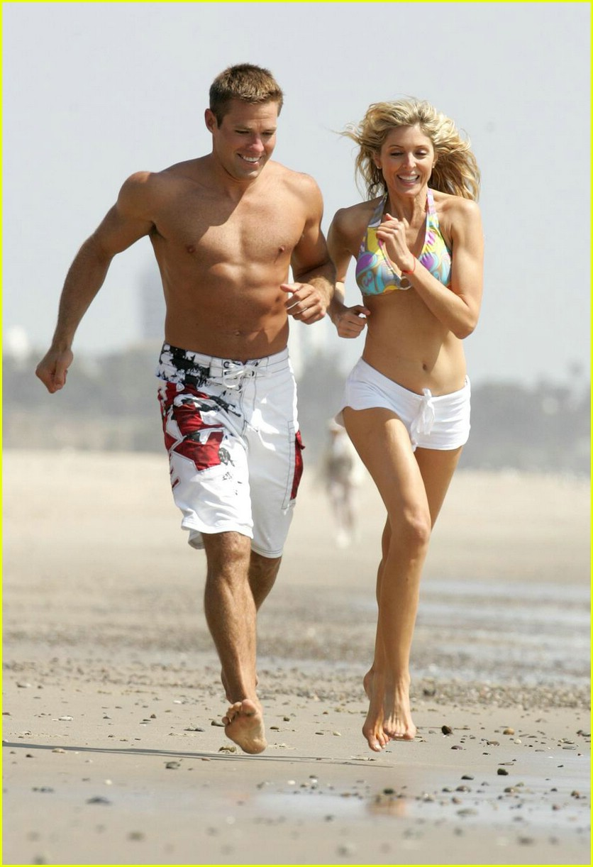 andy baldwin marla maples beach 03