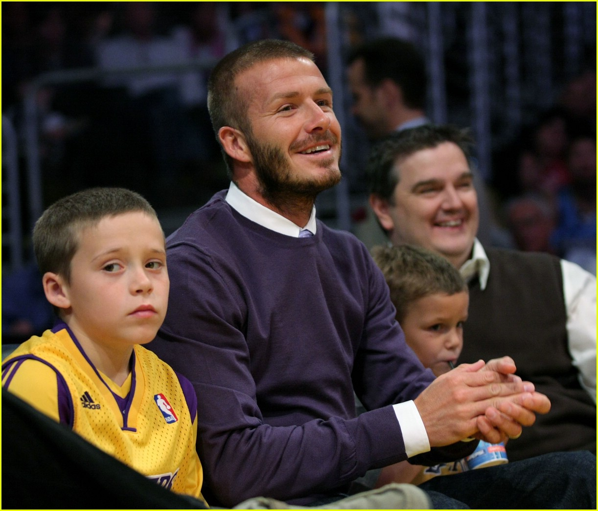 david beckham lakers 05