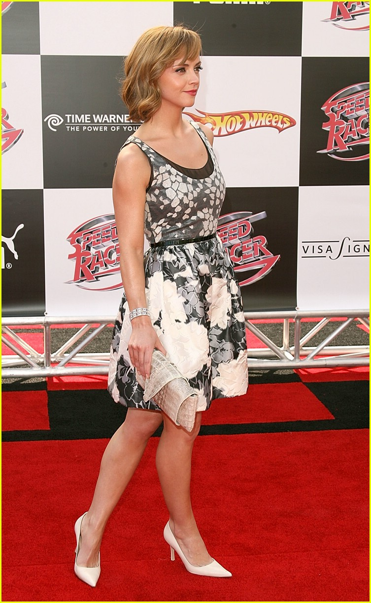 christina ricci speed racer premiere 011093191
