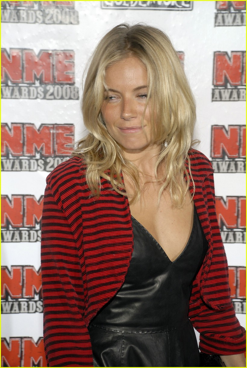 sienna miller nme awards 2008 03