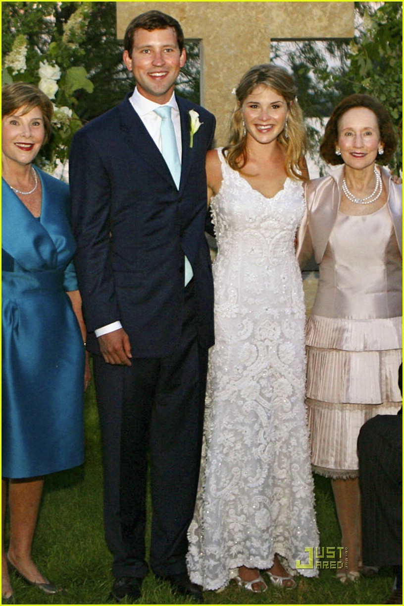 jenna bush wedding pictures 041123051