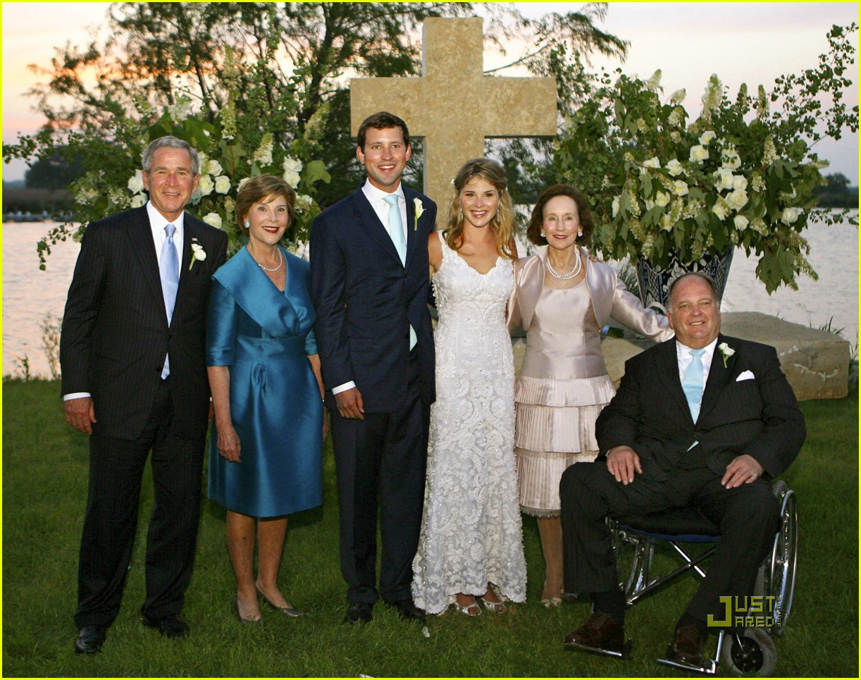 jenna bush wedding pictures 101123111
