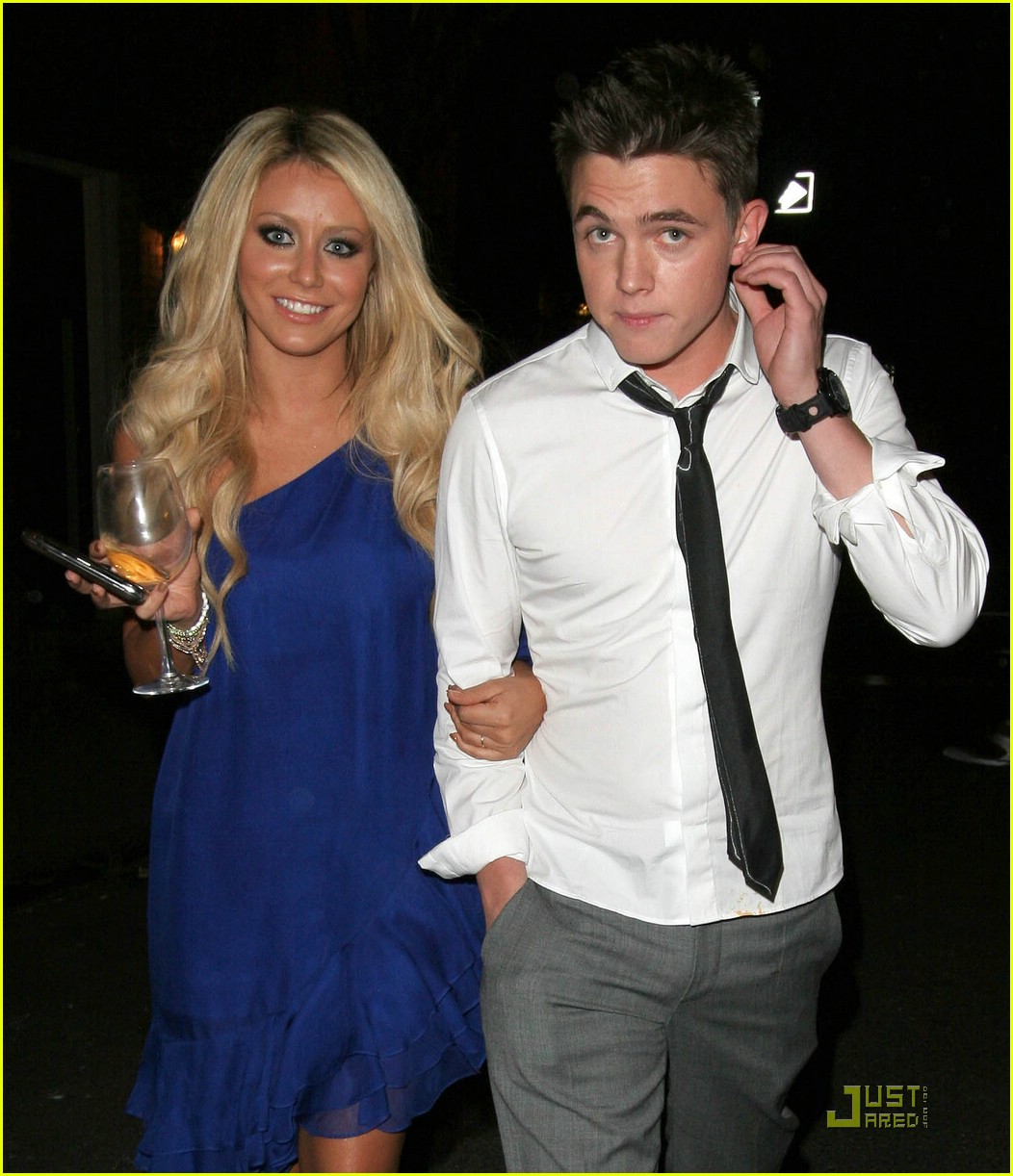 Jesse McCartney & Aubrey ODay: