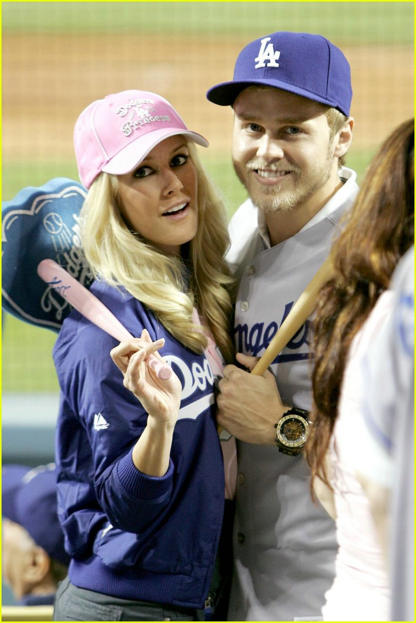 heidi montag spencer pratt dodgers 01