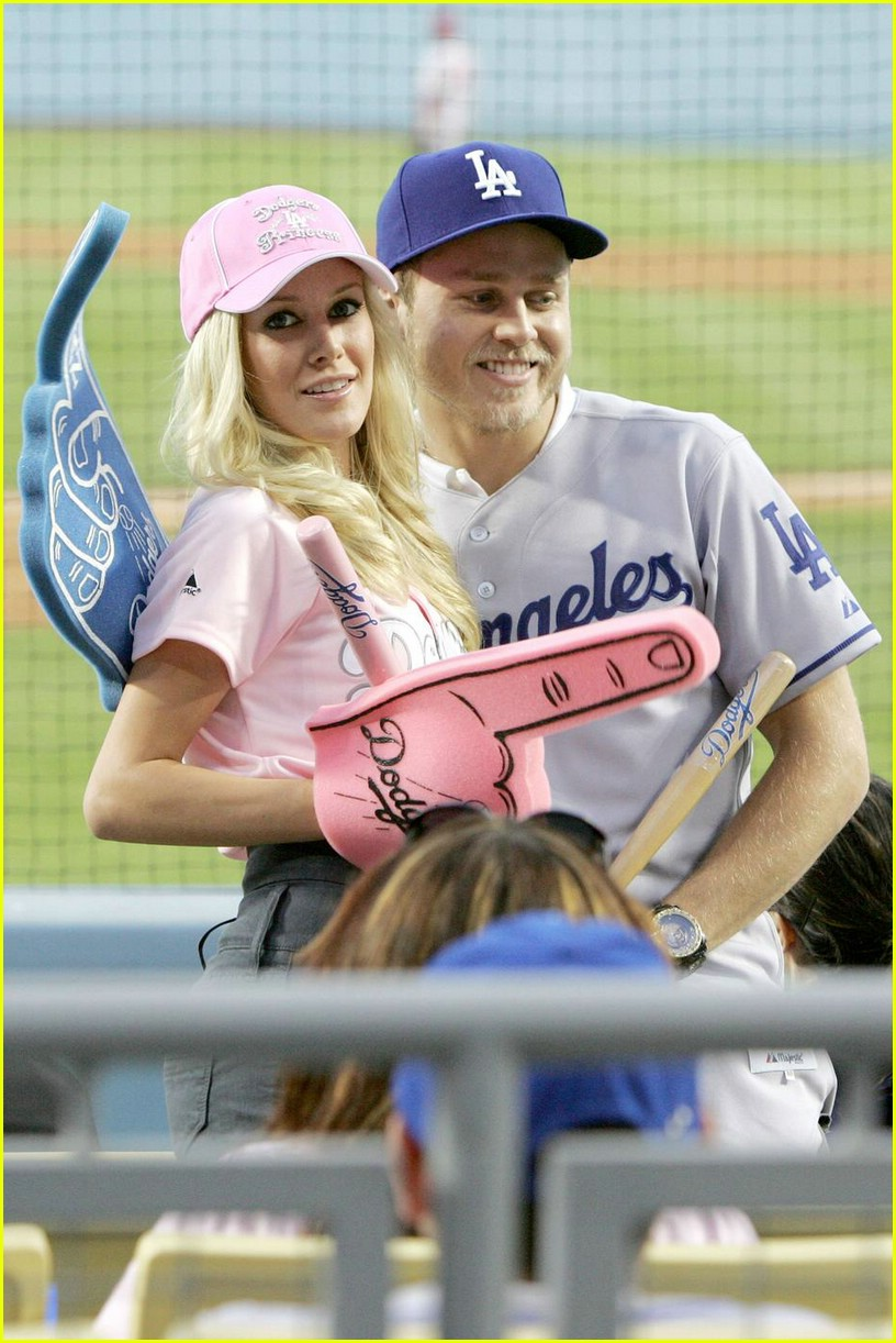 heidi montag spencer pratt dodgers 02