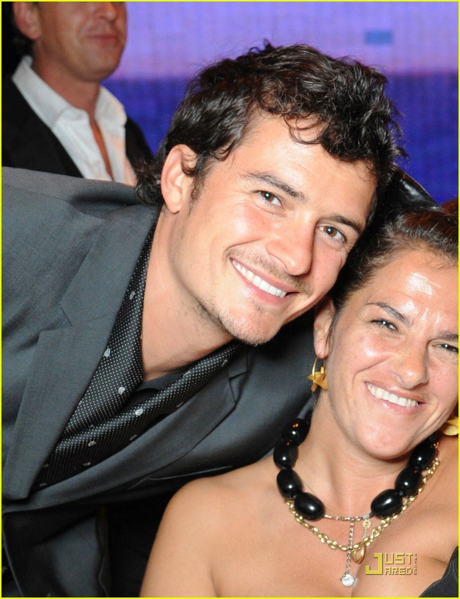 orlando bloom white tie tiara ball 02