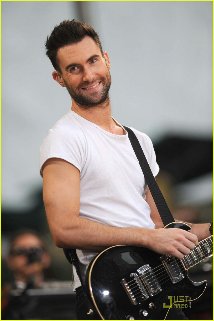 adam levine good morning america 20
