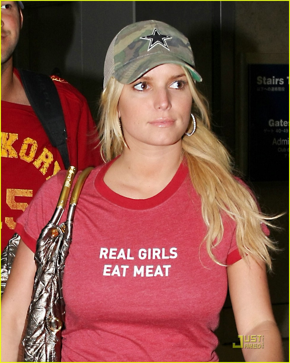 jessica simpson real girls eat meat 11