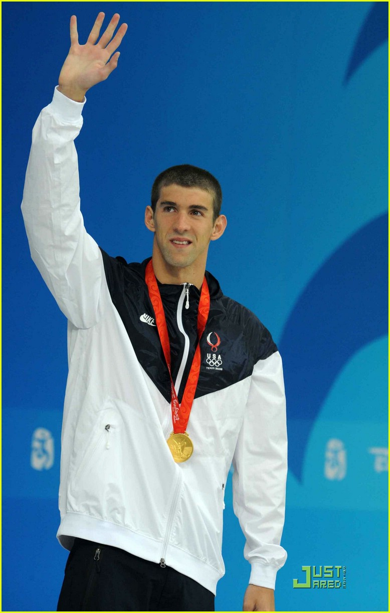 Michael Phelps - Most successful Olympic swimmer ever! Michael-phelps-beijing-olympics-06
