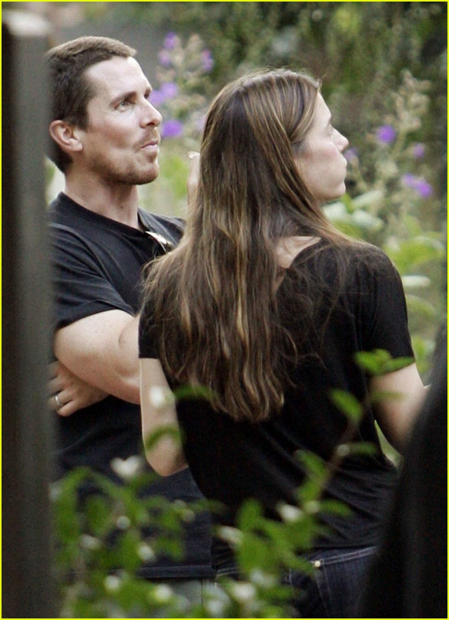 christian bale sibi blazic garden party 07