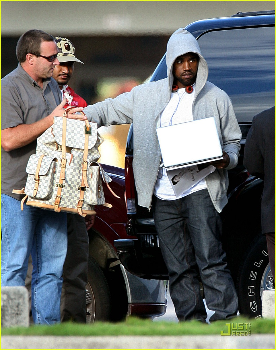 Kanye West Louis Vuitton Backpack kanye west louis vuitton backpack ...