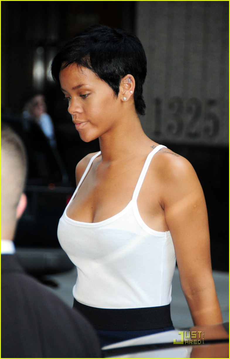 Enjoyable Rihanna Next Up New Zealand Photo 1396821 Chris Brown Ne Yo Hairstyle Inspiration Daily Dogsangcom