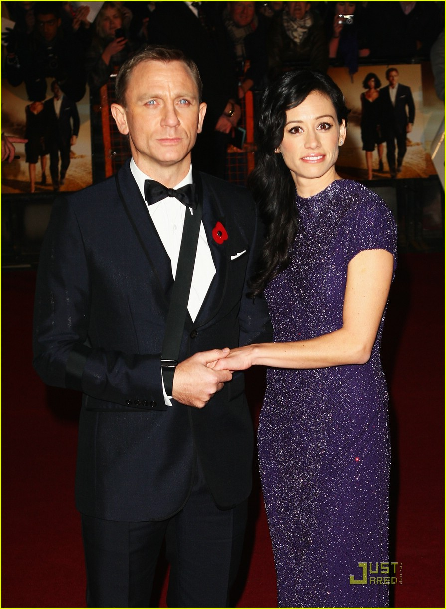 daniel craig quantum of solace world premiere 24