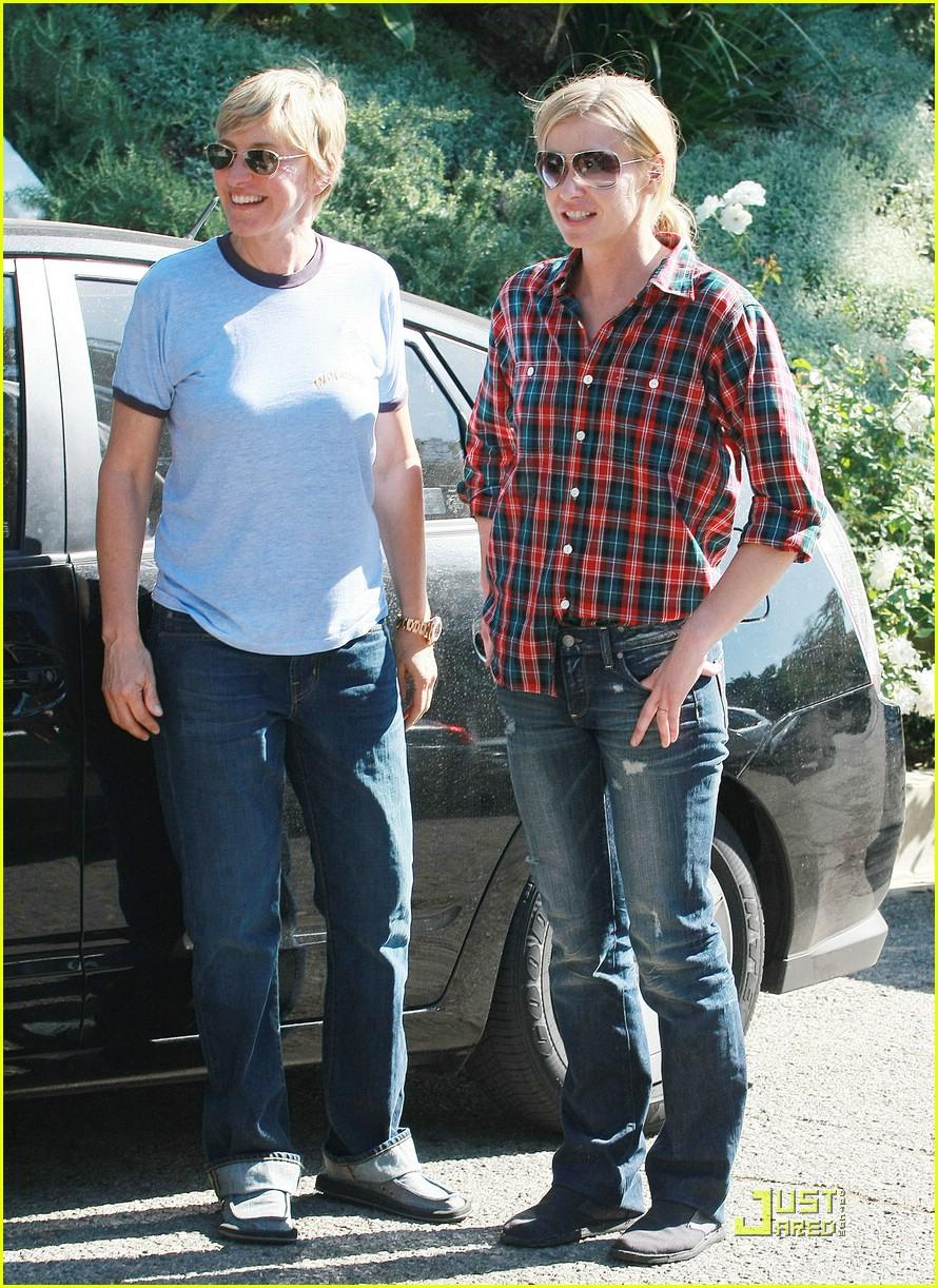 Ellen And Portia Ellen And Portia Love Their Olive Photo 1492771 Ellen Degeneres