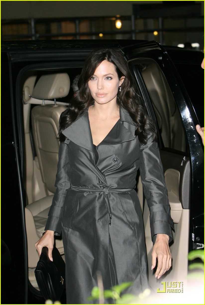 angelina jolie trench coat 021458521