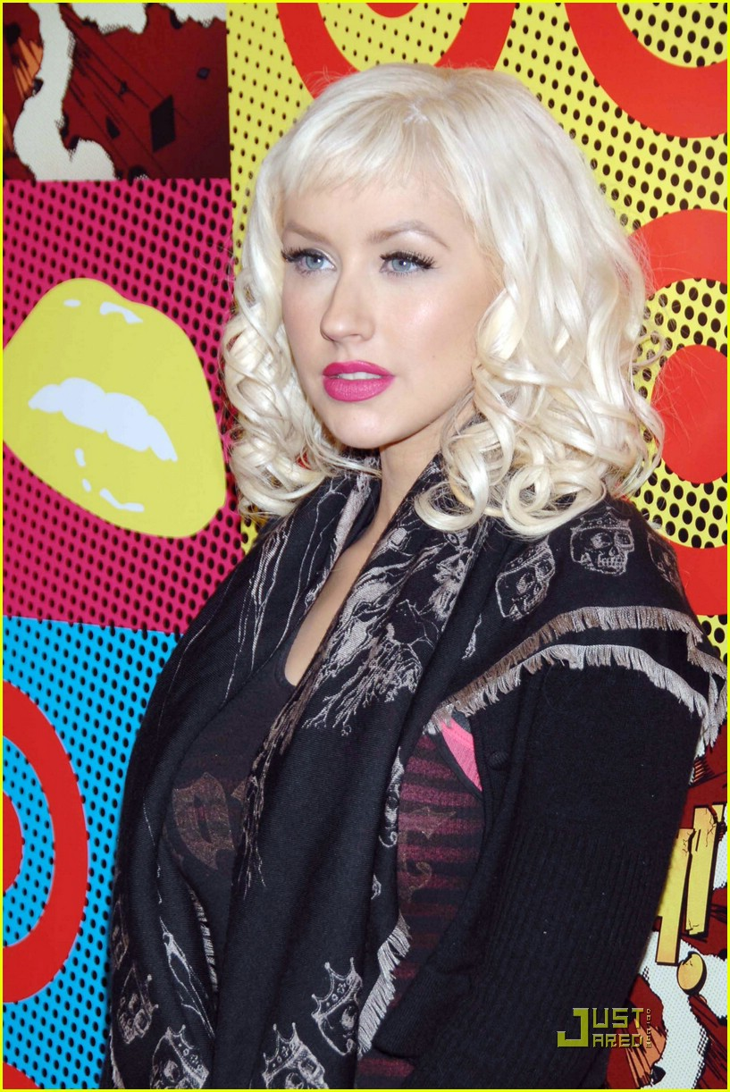 christina aguilera target a night of music 08