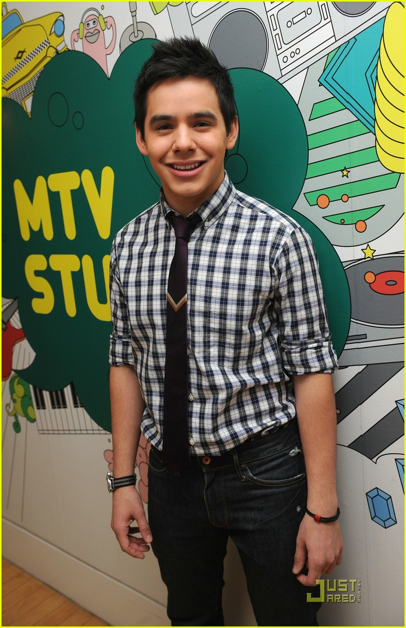 david archuleta mtv tl 09