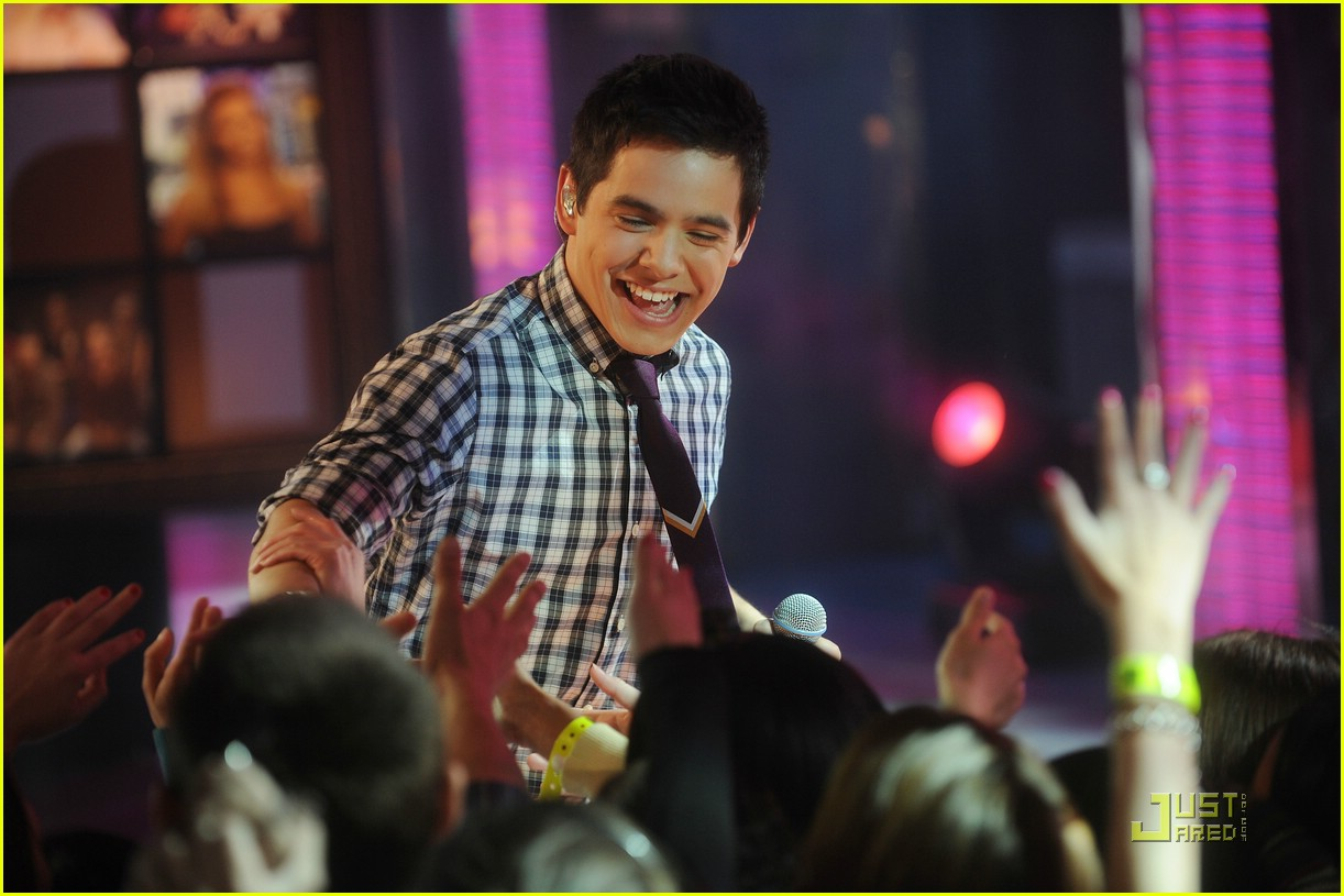 david archuleta mtv tl 22