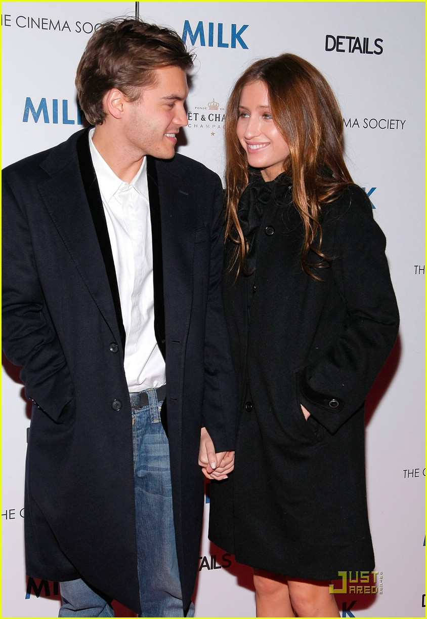Emile Hirsch couple