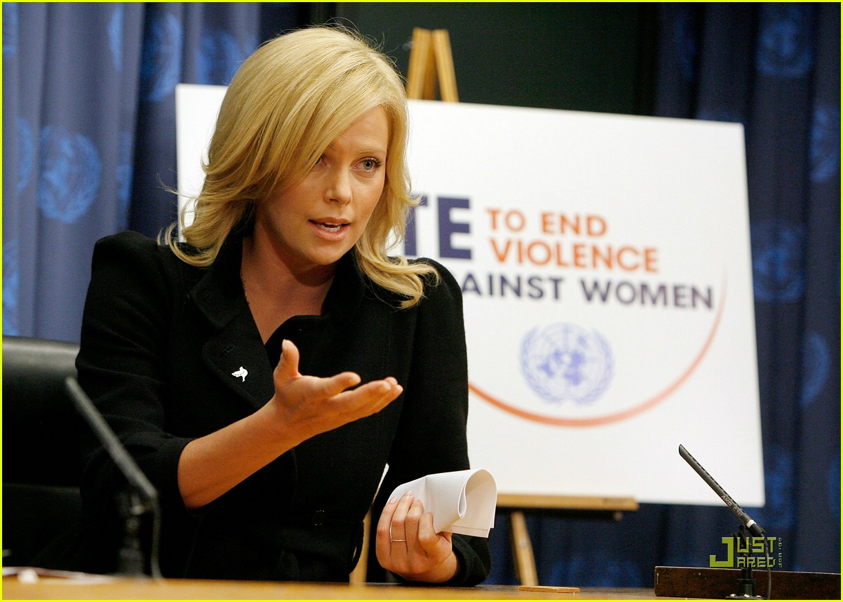 charlize theron united nations messenger of peace 32