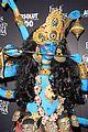 heidi klum blue indian goddess halloween 16