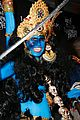 heidi klum blue indian goddess halloween 24