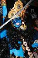 heidi klum blue indian goddess halloween 24