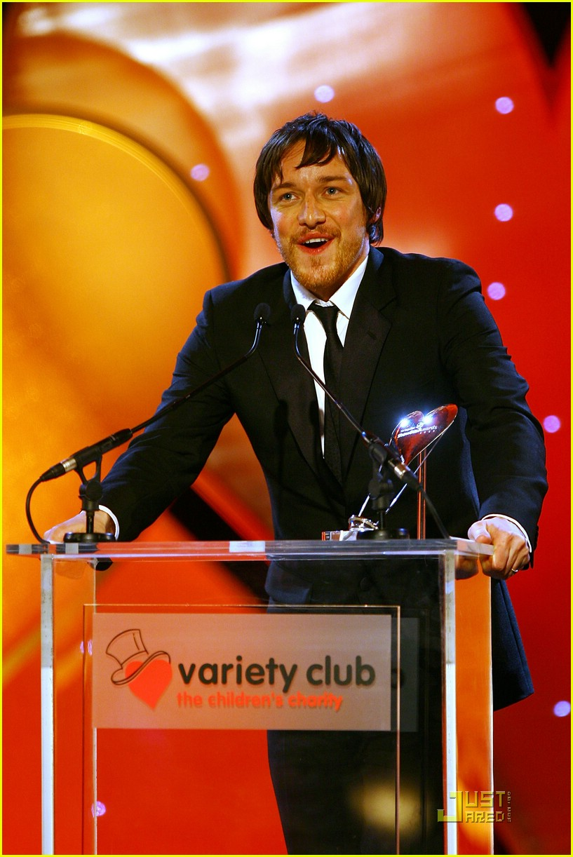 james mcavoy variety club showbiz awards 02