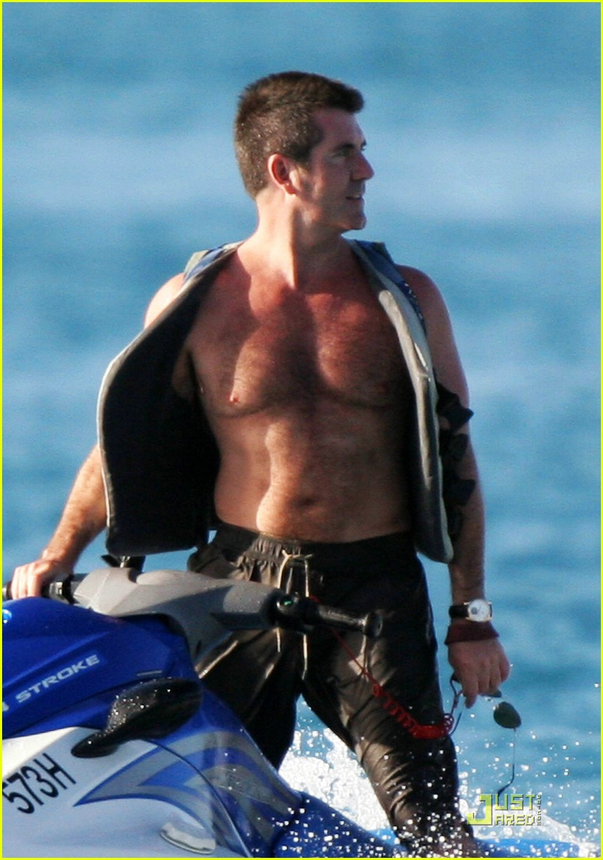 simon cowell shirtless 04
