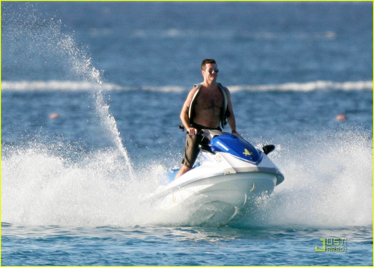 simon cowell shirtless 10