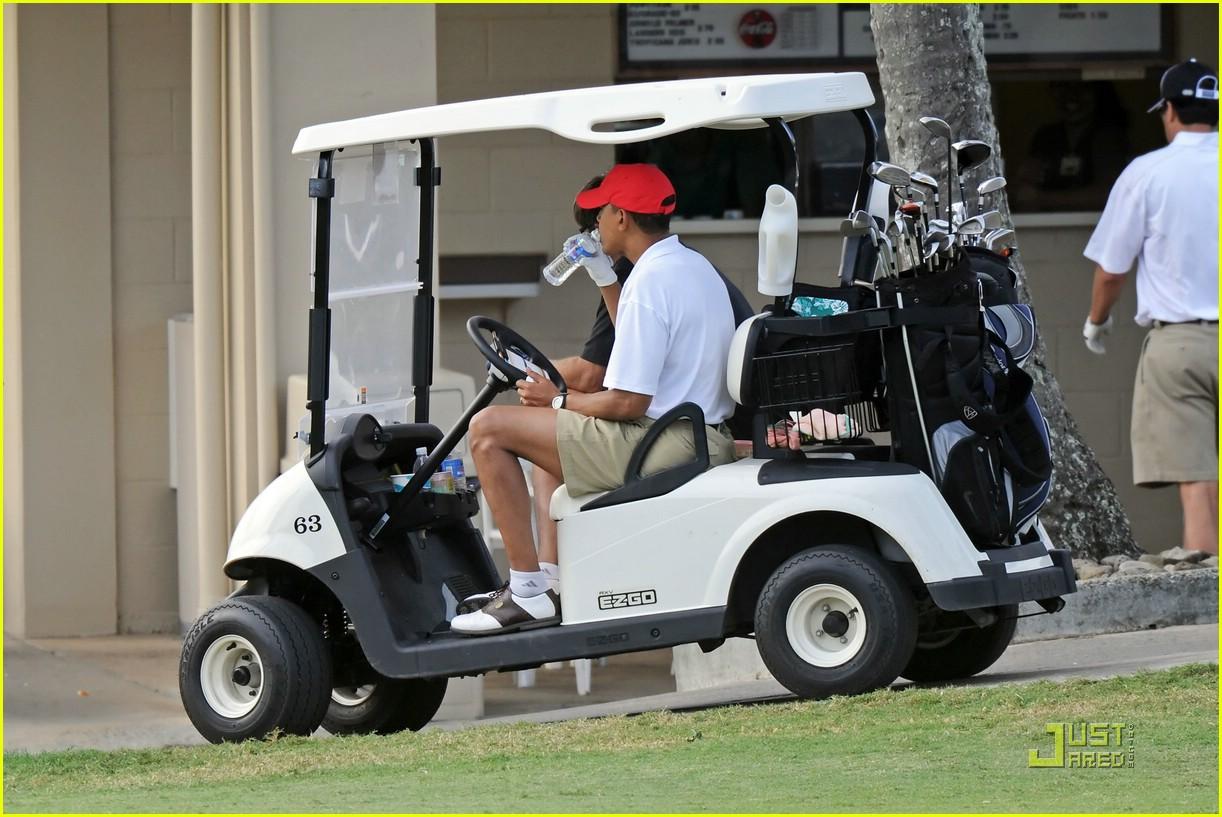 obama golf 221623171