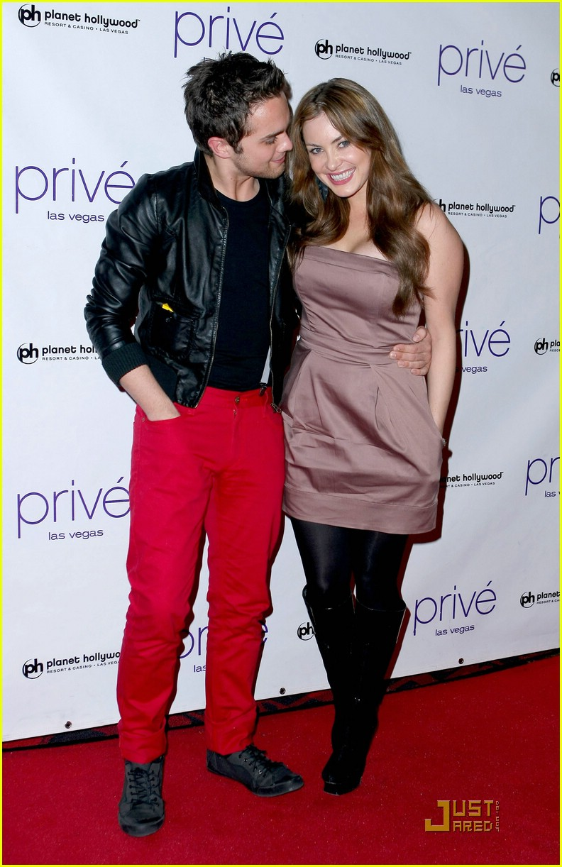 thomas dekker planet hollywood birthday party 06