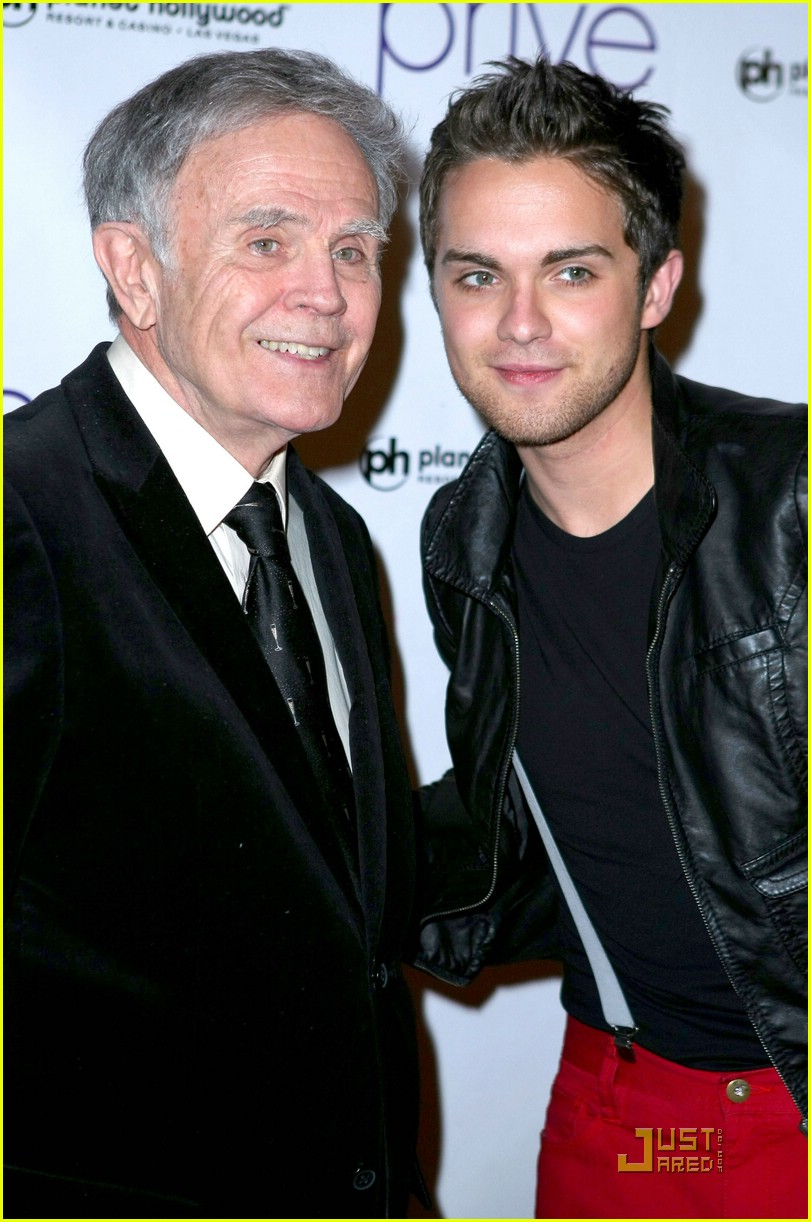 thomas dekker planet hollywood birthday party 13