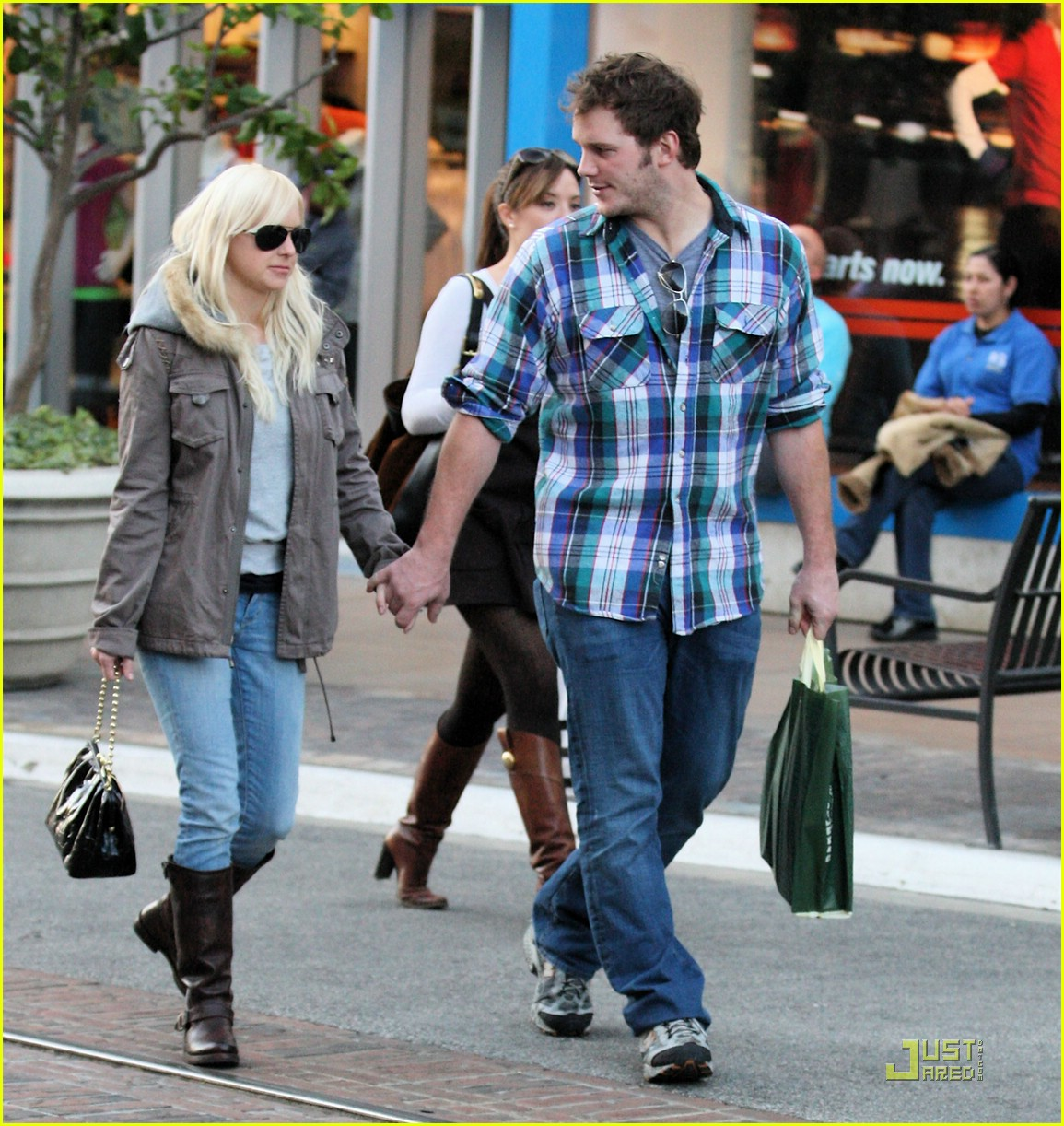 anna faris chris pratt couple 04