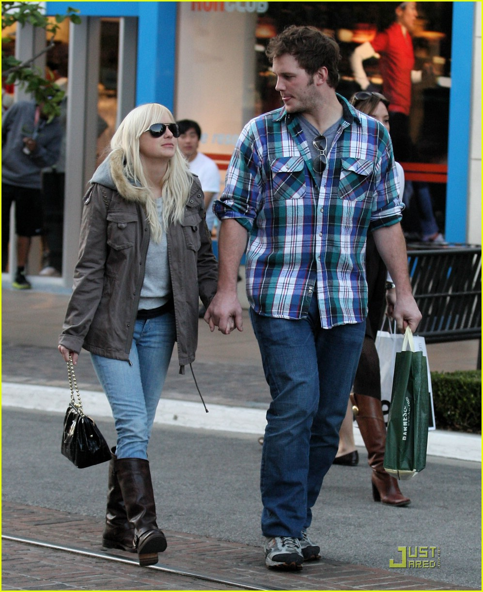 anna faris chris pratt couple 10