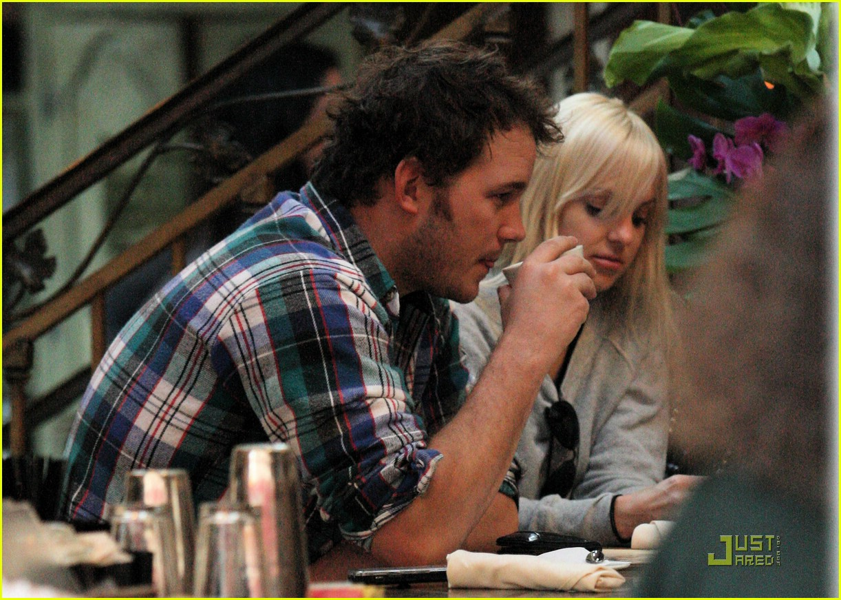 anna faris chris pratt couple 12