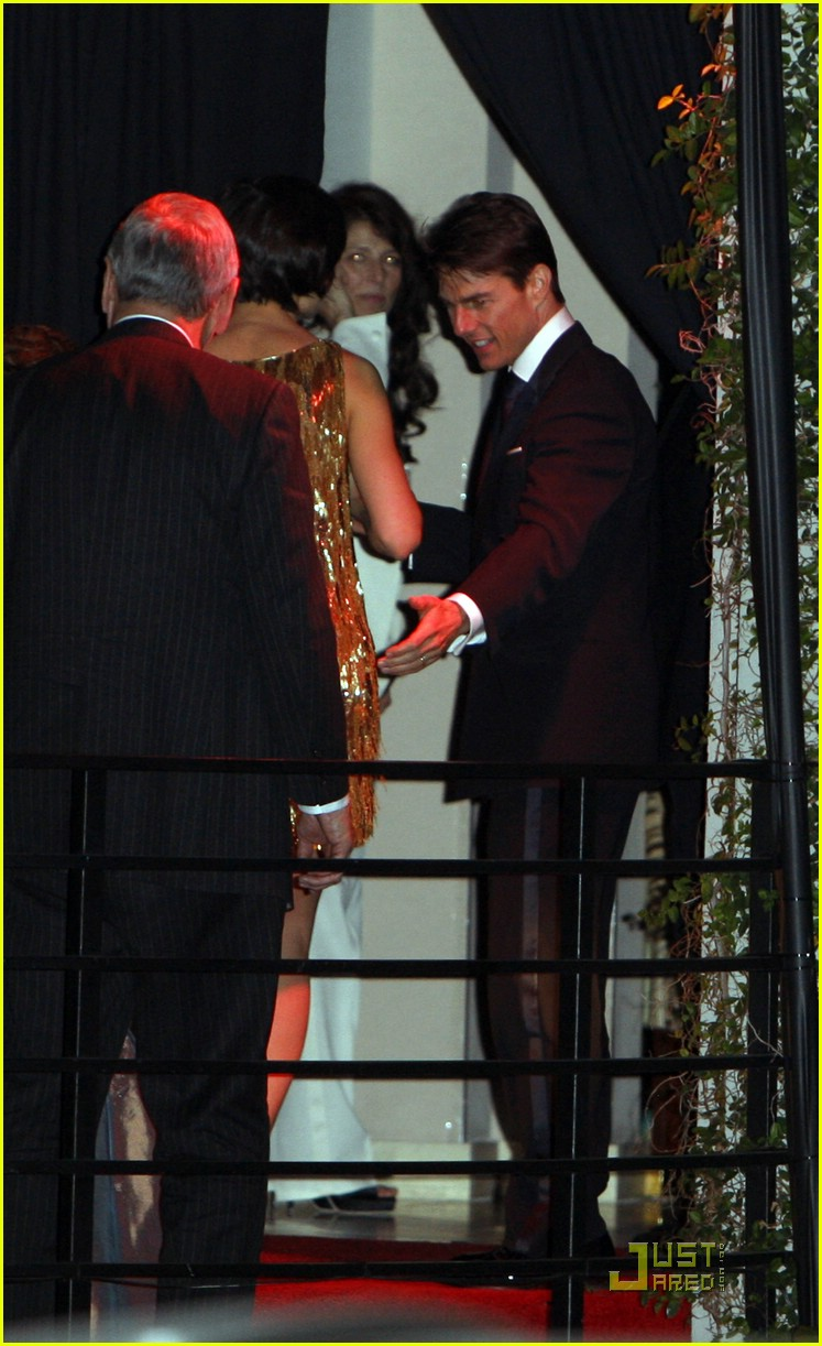 katie holmes golden globes party 07